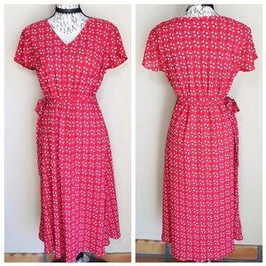 🔴5/$25 Covington Print Maxi Dress